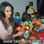 Actress Trisha At Cancer Hospital