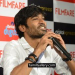 Dhanush & Editor Jitesh Pillaai at the Filmfare Readers Meet